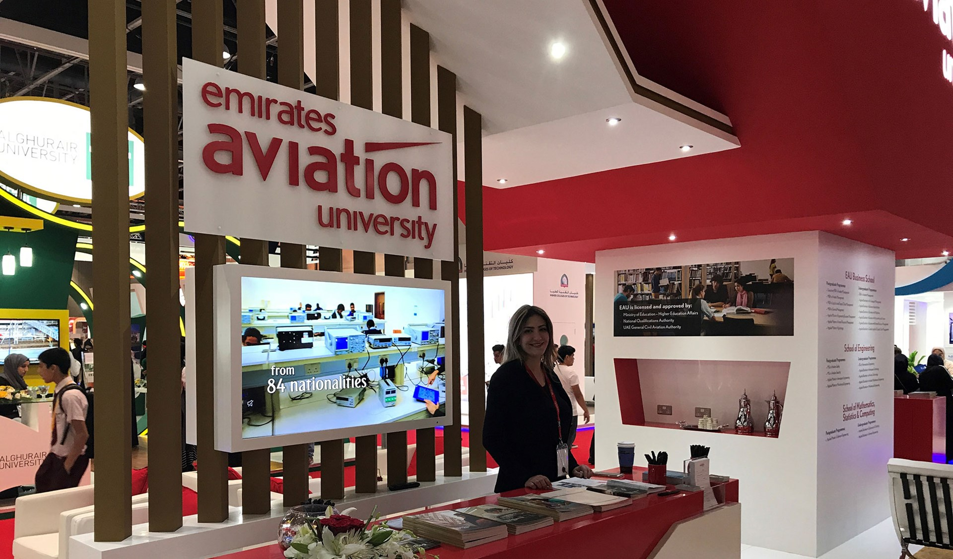 Emirates Aviation University participates in the 29th Edition of GETEX
